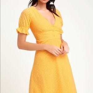 Lulu's Yellow Dress